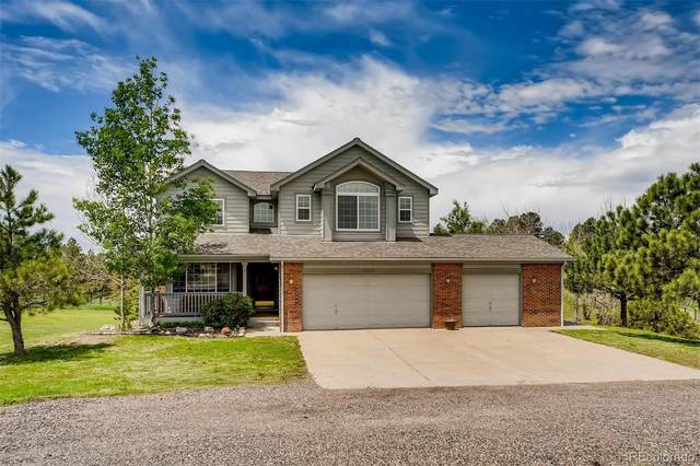 12323 Evergreen Trail, Parker, CO 80138 (#9383777) :: The DeGrood Team