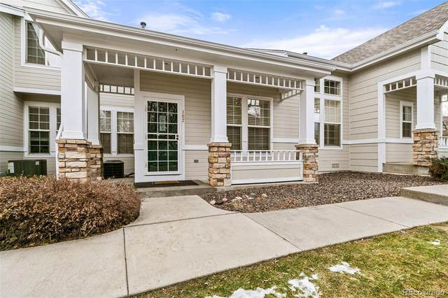 8300 Fairmount Drive C102, Denver, CO 80247 (#9387456) :: Stephanie Fryncko | Keller Williams Integrity