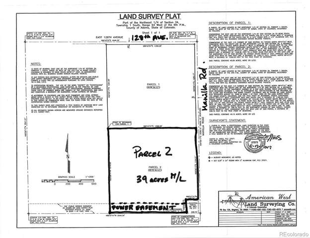 Lot 2 Manila Road, Keenesburg, CO 80643 (#9387576) :: Portenga Properties - LIV Sotheby's International Realty