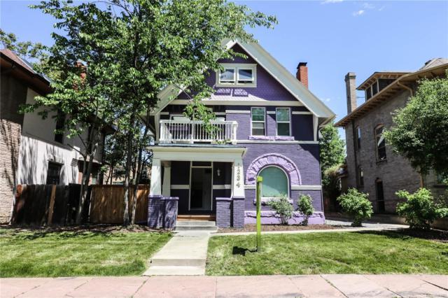 1234 N York Street, Denver, CO 80206 (#9389424) :: The HomeSmiths Team - Keller Williams