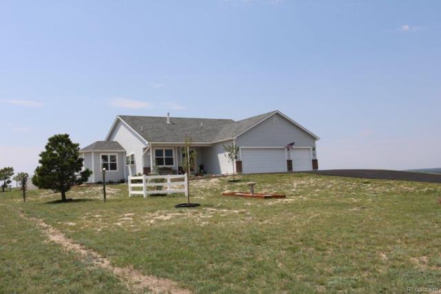 12440 N Conestoga Trail, Elbert, CO 80106 (#9392223) :: House Hunters Colorado