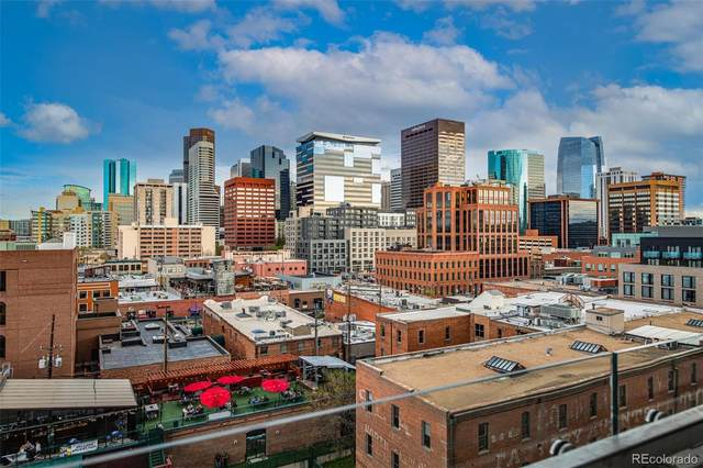 1901 Wazee Street #915, Denver, CO 80202 (#9394571) :: THE SIMPLE LIFE, Brokered by eXp Realty