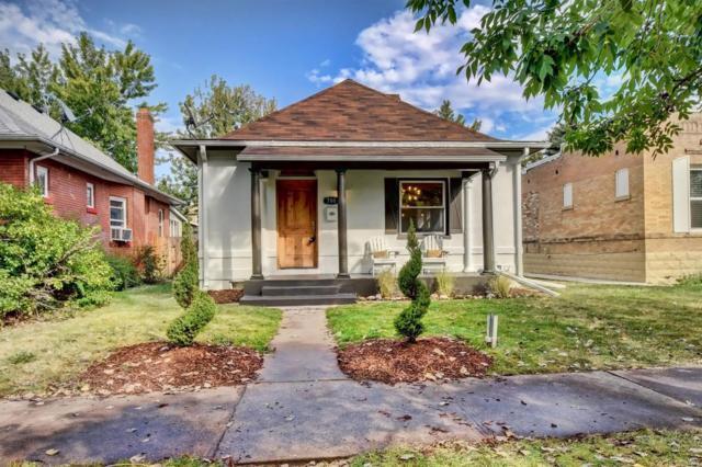 780 S Logan Street, Denver, CO 80209 (#9396789) :: The HomeSmiths Team - Keller Williams