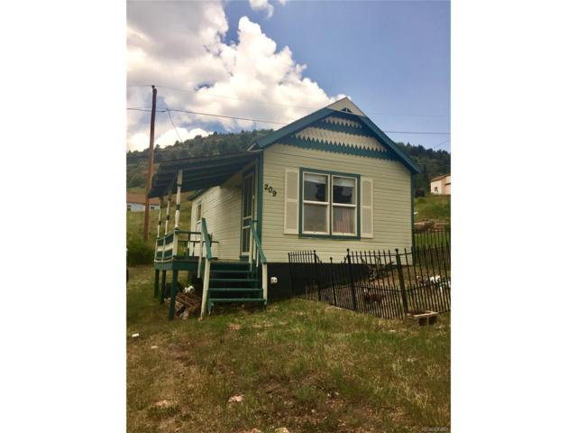 209 N 5th Street, Victor, CO 80860 (MLS #9399315) :: 8z Real Estate