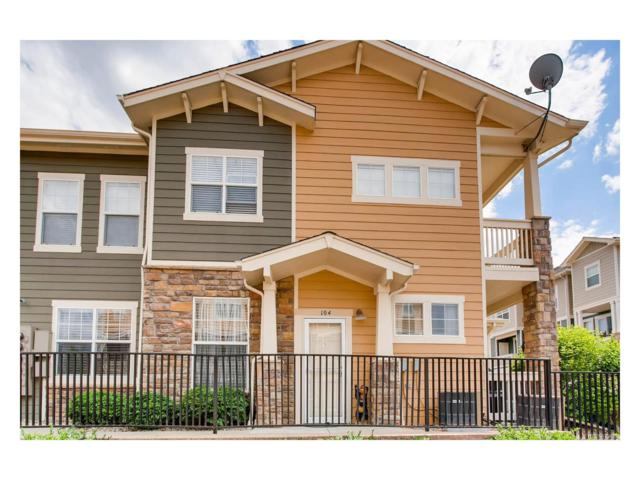 9515 Pearl Circle #104, Parker, CO 80134 (MLS #9402333) :: 8z Real Estate