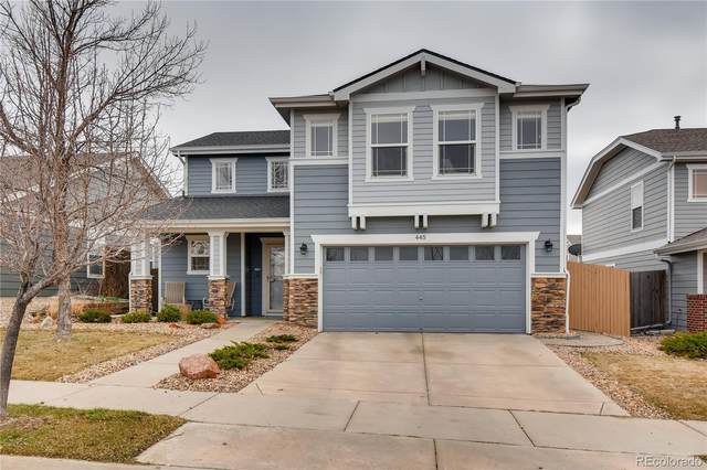 445 Bonanza Drive, Erie, CO 80516 (MLS #9410618) :: 8z Real Estate