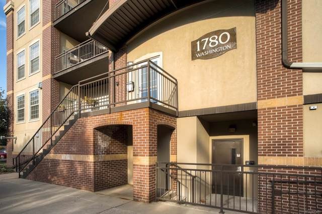 1780 Washington Street #205, Denver, CO 80203 (#9413253) :: The DeGrood Team