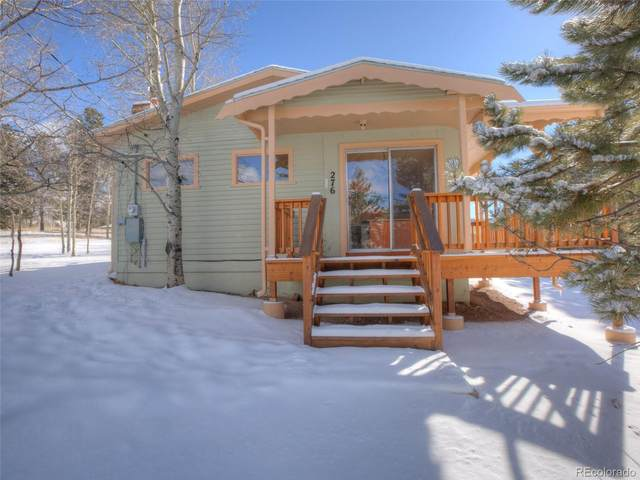 276 Aspen Circle, Divide, CO 80814 (#9416644) :: iHomes Colorado