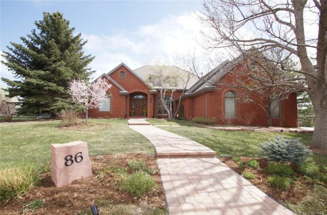 86 Falcon Hills Drive, Highlands Ranch, CO 80126 (#9422734) :: House Hunters Colorado