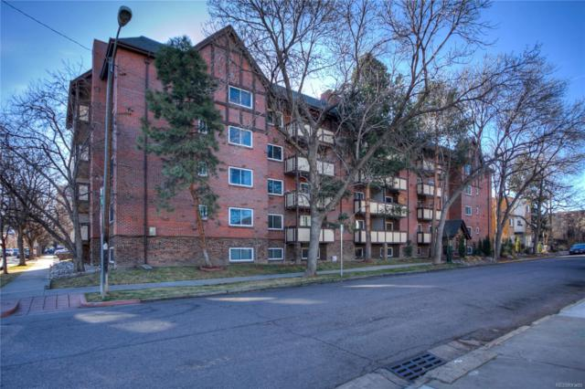 1270 N Marion Street #206, Denver, CO 80218 (#9424600) :: The HomeSmiths Team - Keller Williams