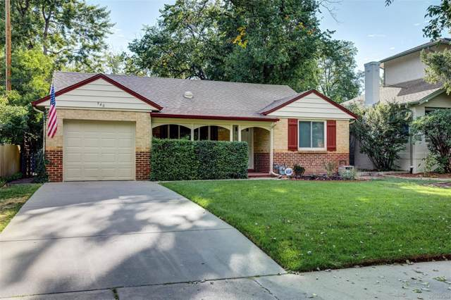 940 Newport Street, Denver, CO 80220 (#9425535) :: Arnie Stein Team | RE/MAX Masters Millennium