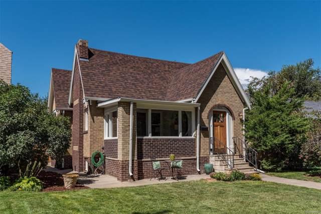 1471 Eudora Street, Denver, CO 80220 (MLS #9425863) :: 8z Real Estate