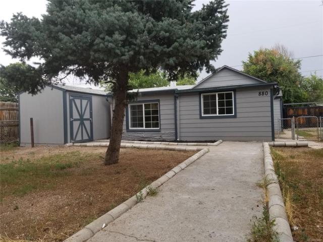 880 S Eliot Street, Denver, CO 80219 (MLS #9425890) :: 8z Real Estate
