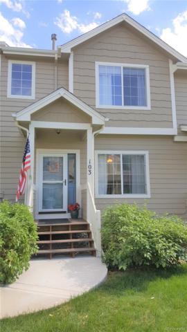 19249 E Carolina Drive #103, Aurora, CO 80017 (#9429082) :: The HomeSmiths Team - Keller Williams