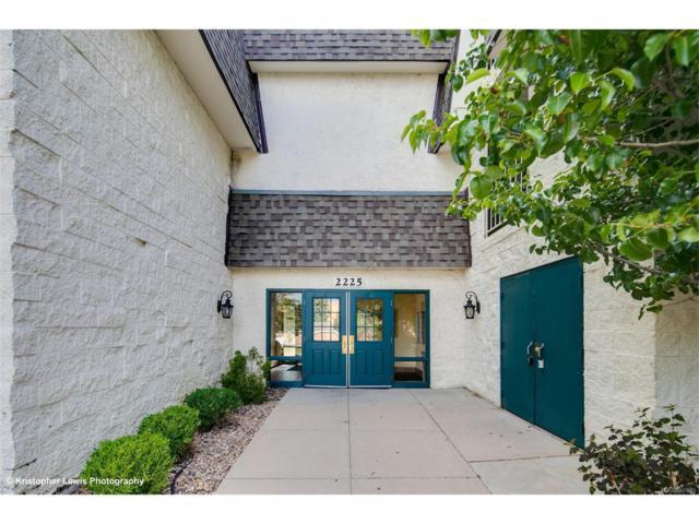 2225 S Jasmine Street #316, Denver, CO 80222 (#9429709) :: The Peak Properties Group