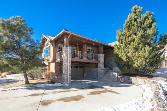 4301 Chateau Ridge Road, Castle Rock, CO 80108 (#9433349) :: The HomeSmiths Team - Keller Williams