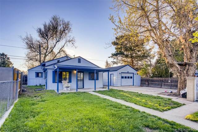 591 S Meade Street, Denver, CO 80219 (#9433787) :: Relevate | Denver