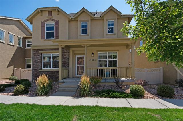 5565 Sunrise Mesa Drive, Colorado Springs, CO 80924 (MLS #9435001) :: Kittle Real Estate