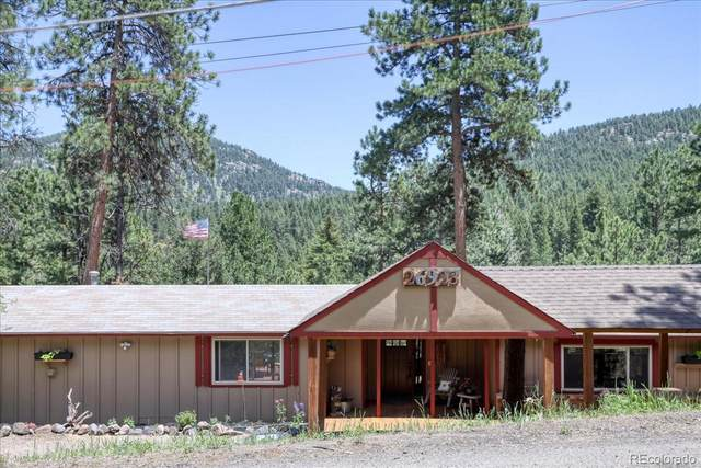 26923 Mesa Drive, Evergreen, CO 80439 (#9436359) :: Re/Max Structure