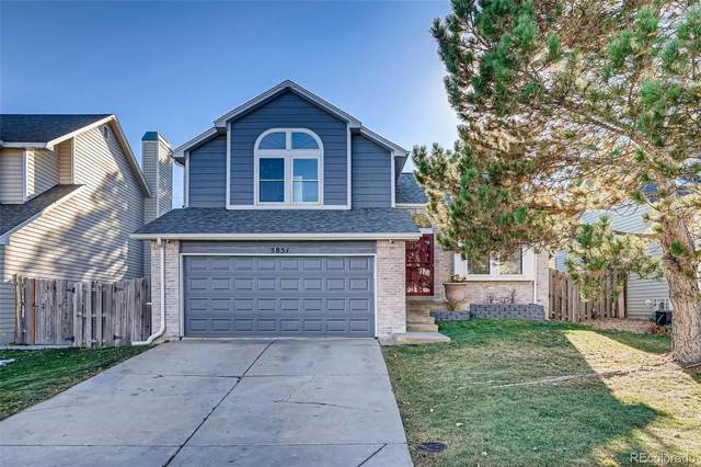 5851 S Jebel Way, Centennial, CO 80015 (#9446766) :: The Dixon Group