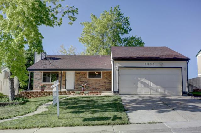 5830 W 74th Avenue, Arvada, CO 80003 (#9450280) :: The Griffith Home Team