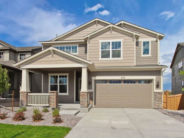 458 Hyde Park Circle, Castle Pines, CO 80108 (#9457025) :: HomeSmart Realty Group