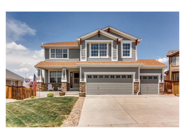 15863 E 107th Avenue, Commerce City, CO 80022 (#9457033) :: The Peak Properties Group