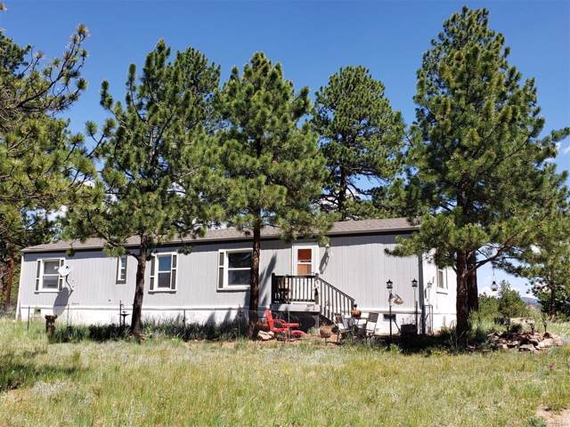 420 Arapahoe Drive, Florissant, CO 80816 (#9463741) :: The DeGrood Team