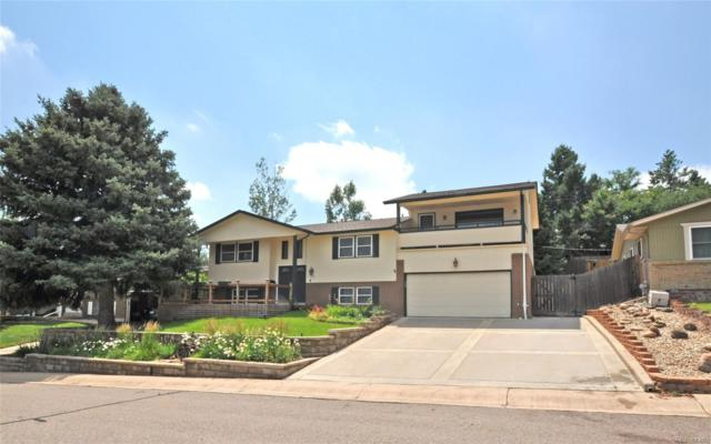 13730 W Dakota Place, Lakewood, CO 80228 (#9464380) :: The Galo Garrido Group