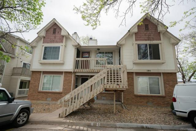 195 S Sable Boulevard U22, Aurora, CO 80012 (MLS #9464801) :: 8z Real Estate