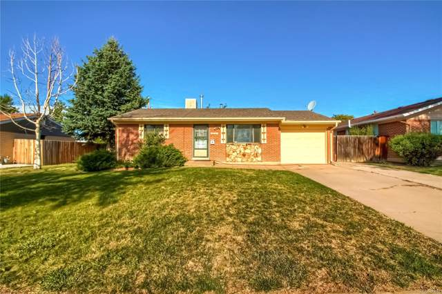 451 S Moline Street, Aurora, CO 80012 (#9465899) :: The Tamborra Team
