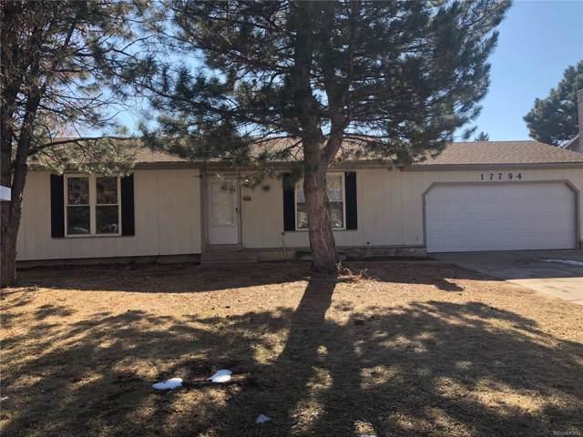 17794 E Arizona Place, Aurora, CO 80017 (#9472963) :: The HomeSmiths Team - Keller Williams