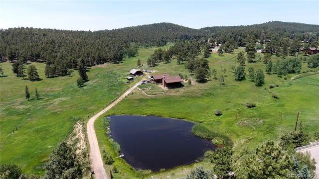 25888 Richmond Hill Road, Conifer, CO 80433 (#9474721) :: The Colorado Foothills Team | Berkshire Hathaway Elevated Living Real Estate