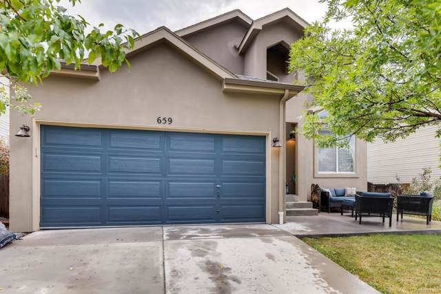 659 Entrada Drive, Golden, CO 80401 (MLS #9475355) :: 8z Real Estate