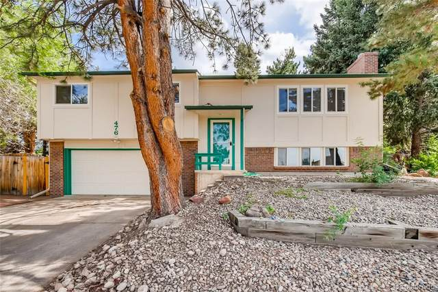 476 Valley Drive, Castle Rock, CO 80104 (#9480648) :: The Gilbert Group