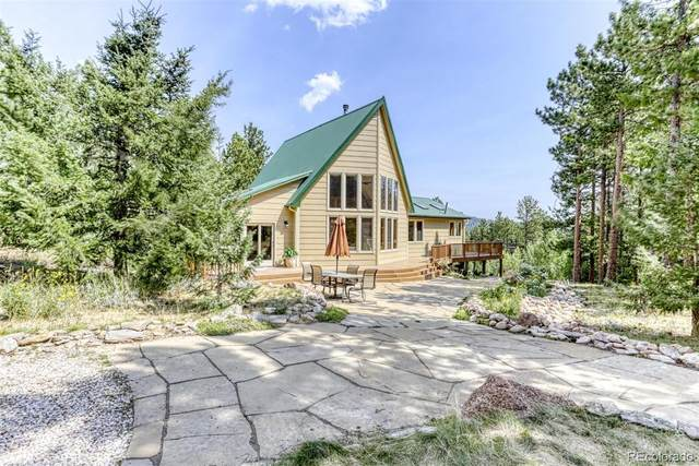 381 Ridge Road, Ward, CO 80481 (MLS #9489013) :: 8z Real Estate