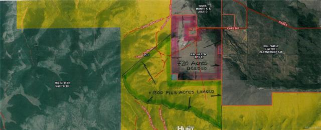 42650 County Road Z43, Saguache, CO 81149 (MLS #9489612) :: Kittle Real Estate