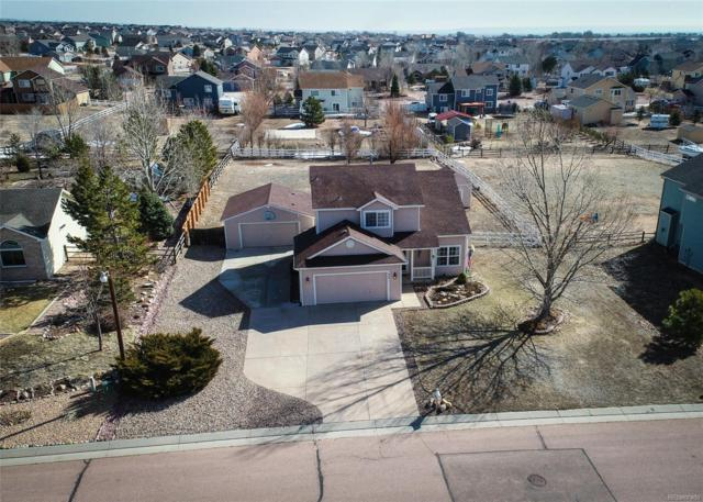 8587 Saddleman Road, Peyton, CO 80831 (#9490502) :: Compass Colorado Realty