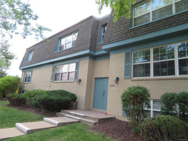 9220 E Girard Avenue #2, Denver, CO 80231 (#9492142) :: Colorado Home Finder Realty
