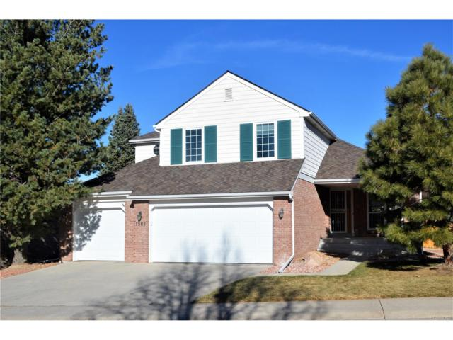 1563 Sunset Ridge Road, Highlands Ranch, CO 80126 (#9494972) :: The Dixon Group