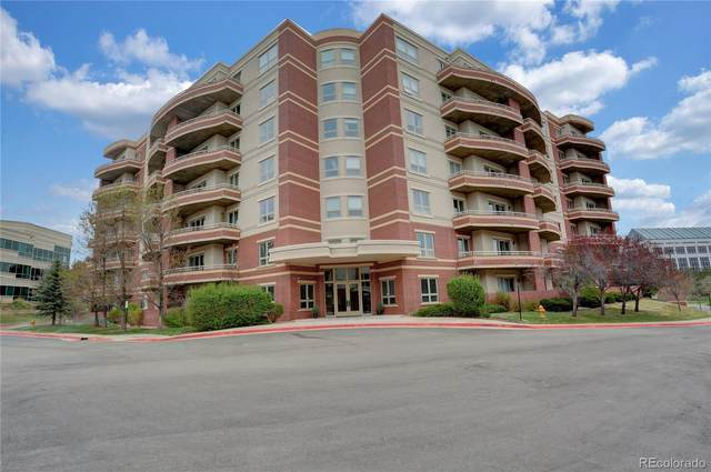 4875 S Monaco Street #703, Denver, CO 80237 (#9496802) :: James Crocker Team