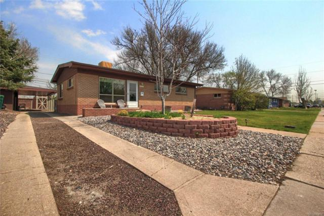 9707 W 57th Place, Arvada, CO 80002 (#9503853) :: The Galo Garrido Group