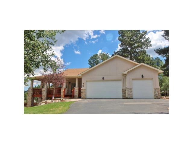 407 Karen Lane, Woodland Park, CO 80863 (MLS #9505876) :: 8z Real Estate
