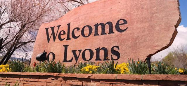 355 Mcconnell Drive, Lyons, CO 80540 (MLS #9511269) :: JROC Properties