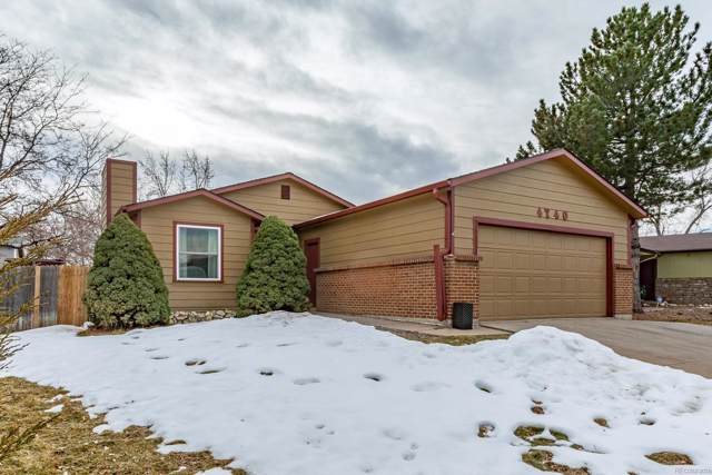 4740 S Tabor Street, Morrison, CO 80465 (#9513641) :: Berkshire Hathaway Elevated Living Real Estate