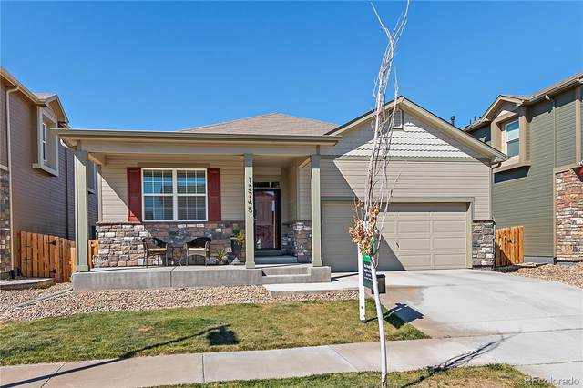 12745 E 104th Place, Commerce City, CO 80022 (#9515293) :: The DeGrood Team