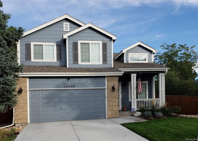 16490 Oakwell Court, Parker, CO 80134 (#9522048) :: The HomeSmiths Team - Keller Williams
