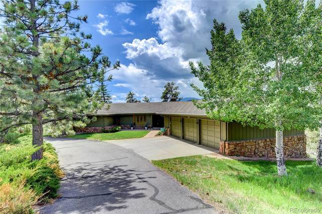 2457 Hiwan Drive, Evergreen, CO 80439 (#9527916) :: Mile High Luxury Real Estate