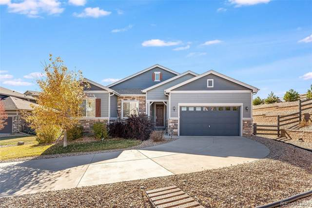 3309 Thornwood Court, Castle Rock, CO 80108 (#9529243) :: The Gilbert Group