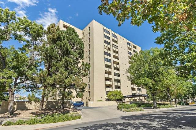 800 Pearl Street #1008, Denver, CO 80203 (#9531438) :: HomeSmart